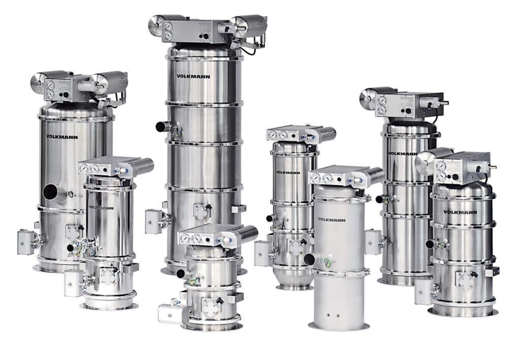 Pneumatische Vakuumförderung